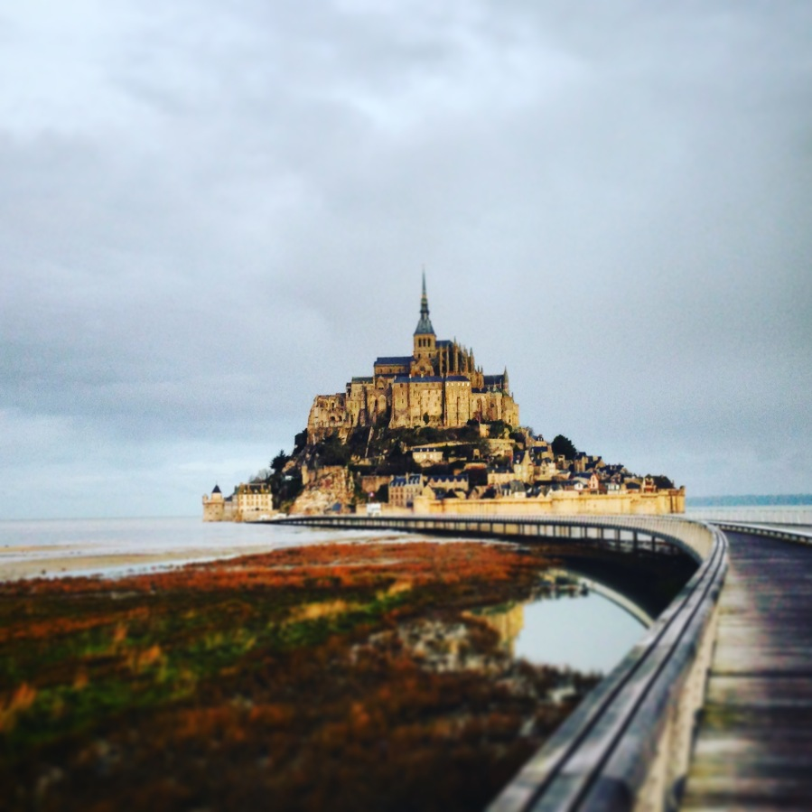 Mont Saint Michel January