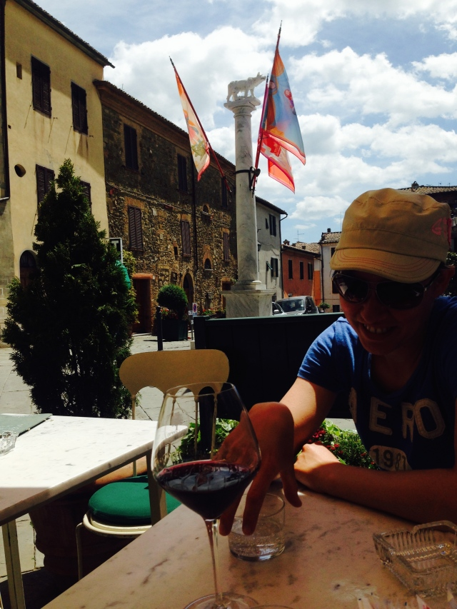Brunello trinken in Montalcino