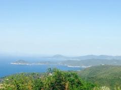 Blick in die Bucht von Portoferraio